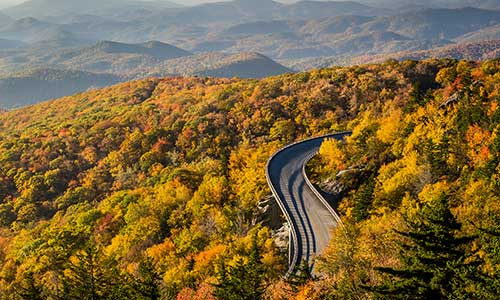 Blue Ridge Parkway, Great Smoky Mountains