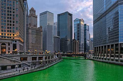 St. Patrick's Day in Chicago, IL