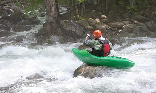 Whitewater rafting on the Nantahala, Ocoee, Big Pigeon, and Lower Pigeon rivers