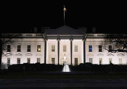 The White House is known to be haunted with past Presidents