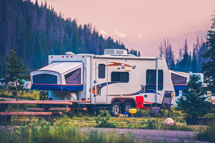 The Perks to Glamping in Your RV