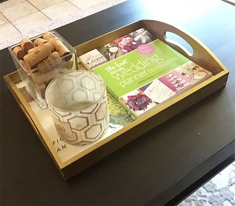 Map Crafts: DIY Tray