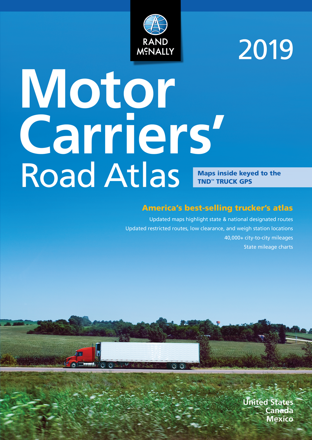 Rand Mcnally Motor Carriers Road Atlas