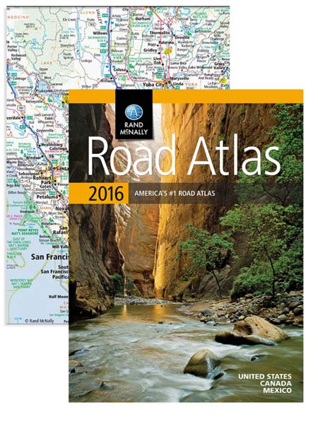 The 2016 Road Atlas - ebook