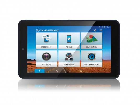 OverDryve 7C Connected Car GPS Tablet