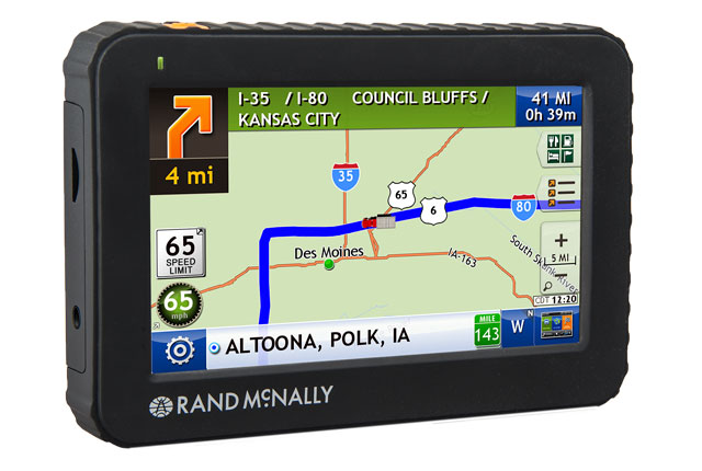 Rand mcnally intelliroute tnd 515 for Motor carriers road atlas download