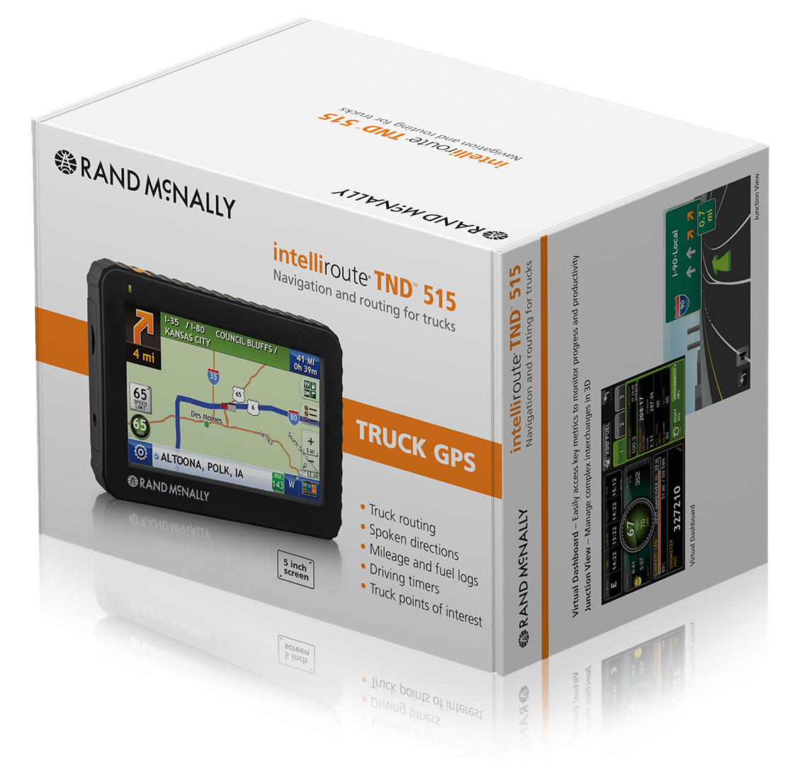 Rand Mcnally Gps >> Rand McNally | IntelliRoute® TND™ 515