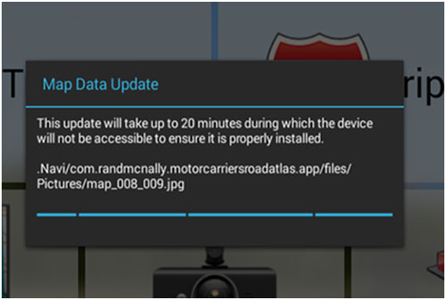 Rand McNally   TND Tablet Map Update   Support