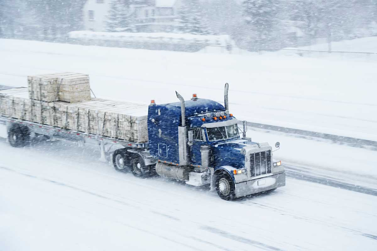 Truck Driver Safety Tips When Winter Disaster Strikes