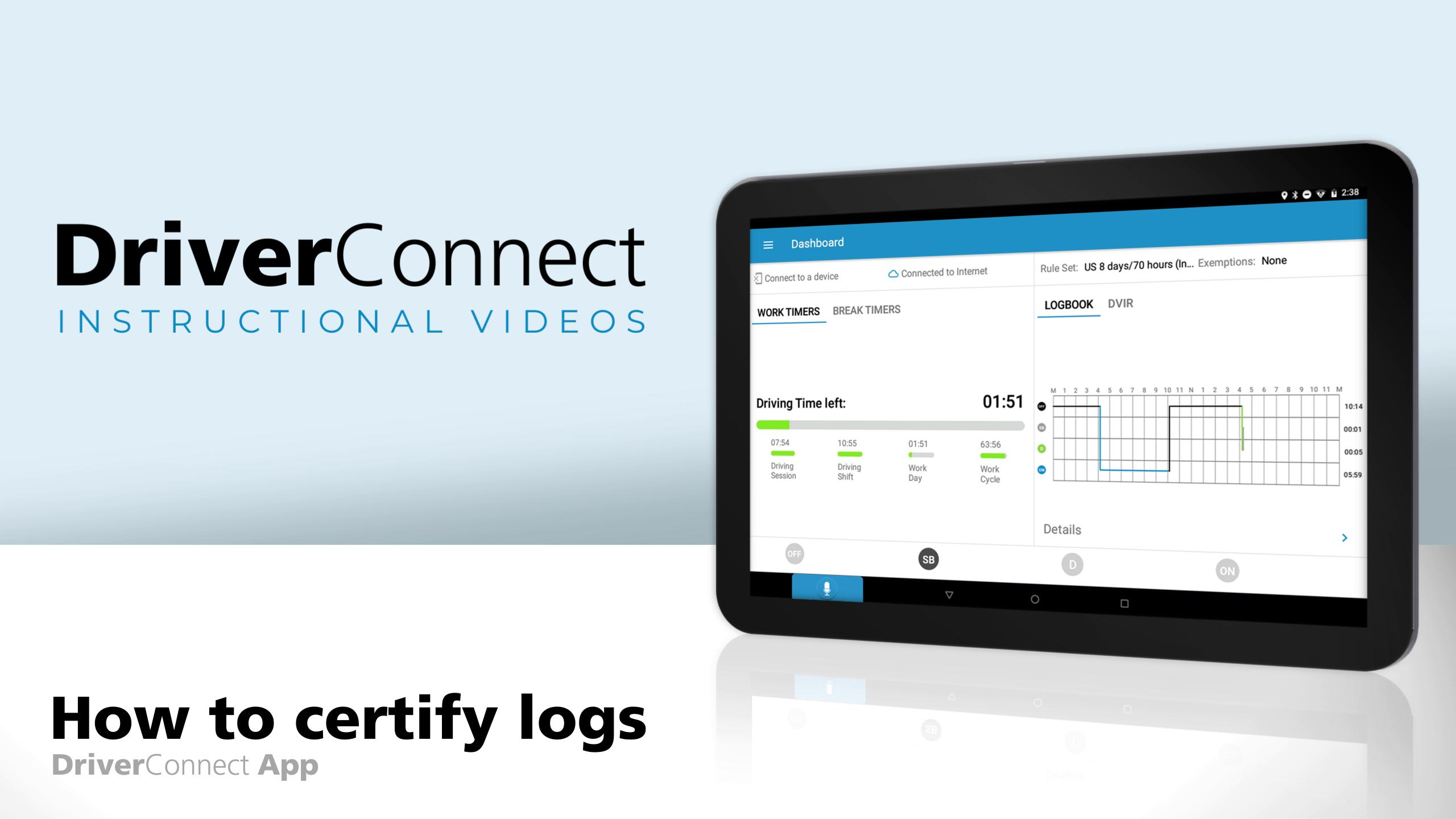 DC App Tutorial How to Certify Logs