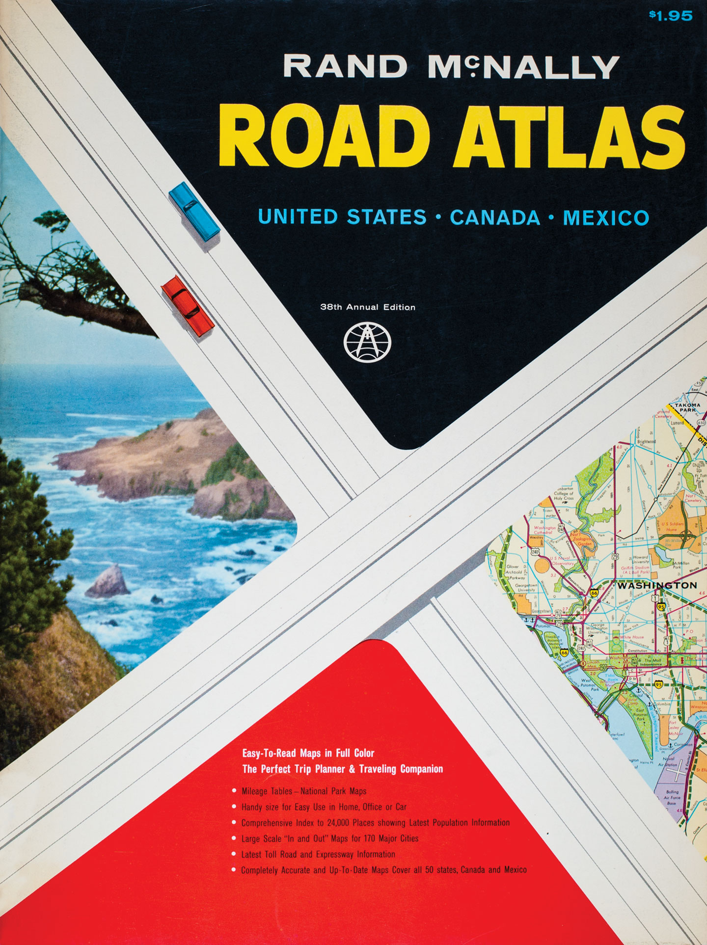 Cheap Cars Com >> Rand McNally | Road Atlas 95th Anniversary