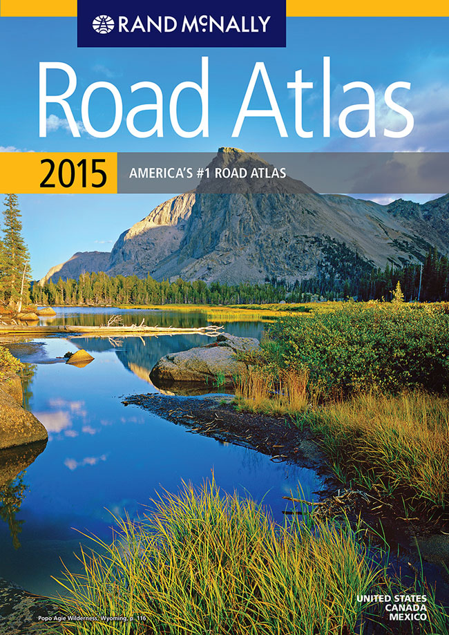 Rand McNally Road Atlas Cover Retrospective - Us map atlas