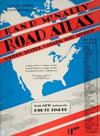 1942 Road Atlas