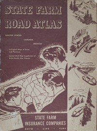 1945 Road Atlas