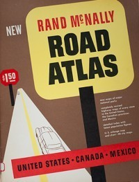 1954 Road Atlas