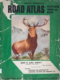1958 Road Atlas