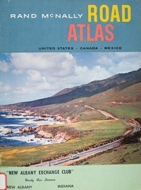 1960 Road Atlas