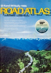 1986 Road Atlas