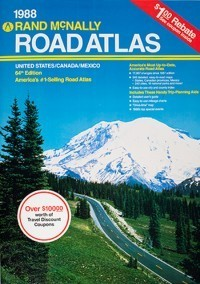 1988 Road Atlas