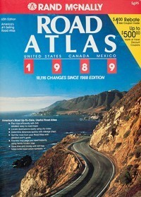1989 Road Atlas