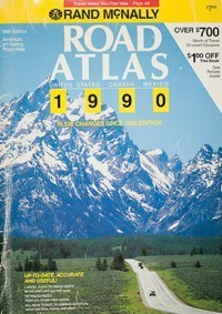 1990 Road Atlas