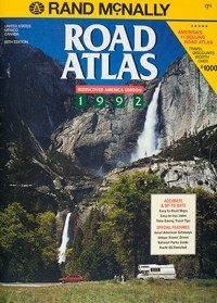 1992 Road Atlas