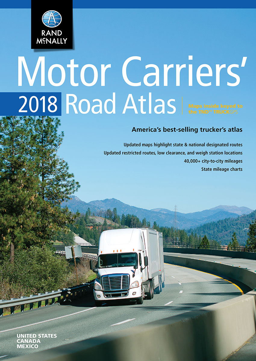 2018 Motor Carriers' Road Atlas
