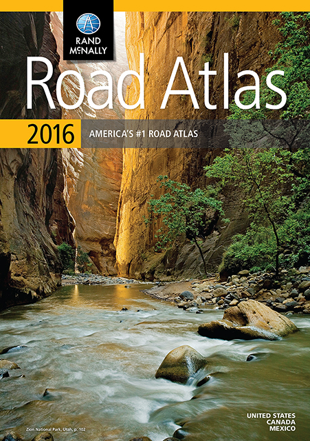 2016 Road Atlases