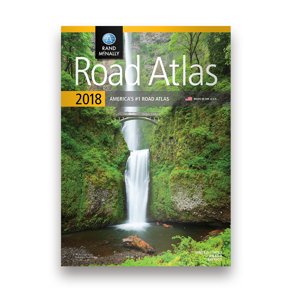 The  Road Atlas - 3d map usa states