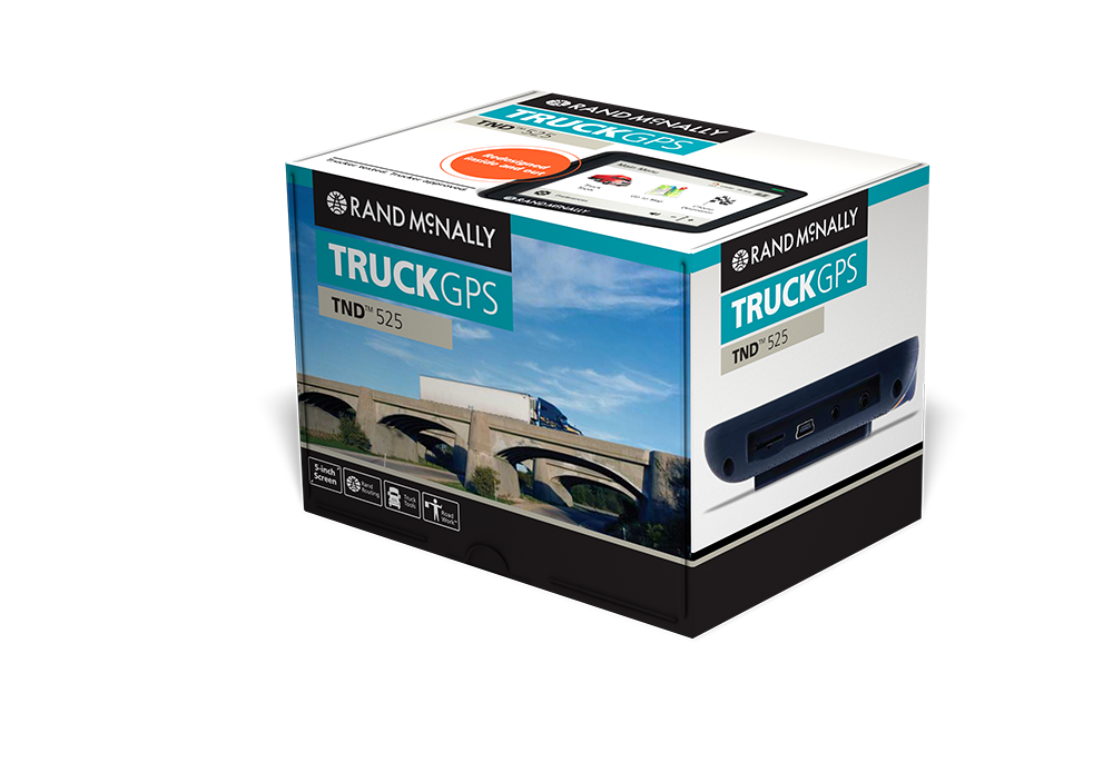 Intelliroute tnd 525 lm truck gps for Motor carriers road atlas download