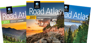 2017 Road Atlases